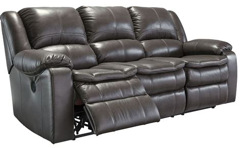 ashley furniture gray reclining sofa long knight gray power reclining sofa from ashley 8890687