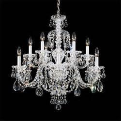 chandeliers schonbek schonbek 3601 sterling 12 light up lighting chandelier