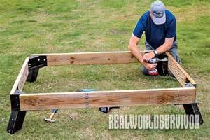 Bow Window Support Brackets build your own buck tower and hunt with a friend
