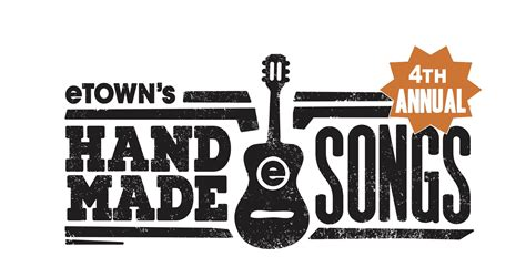 Handmade Songs By - etown s handmade songs series