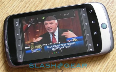 slingplayer for android slingplayer mobile for android on slashgear