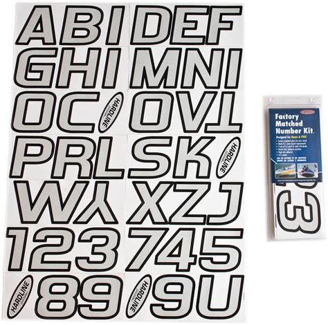 boat lettering silver black boat lettering registration numbers 700