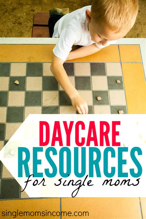 Some Resources For Mothers by Daycare Help For Single Single Income