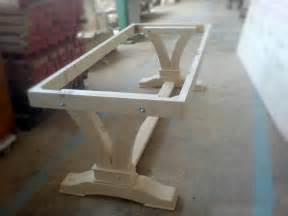 Table L With Wooden Base Best 25 Table Bases Ideas On Custom Glass