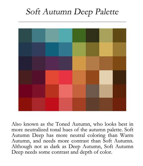 deep autumn color palette 25 best soft autumn deep ideas on pinterest soft autumn