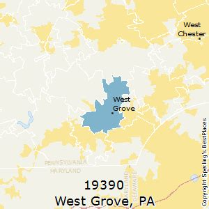 zip code map western pa best places to live in west grove zip 19390 pennsylvania