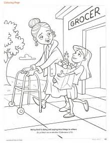 kindness coloring pages happy clean living primary 2 lesson 28