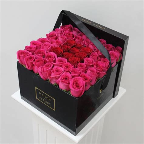 Box A Single David Pink Preserved Flower For Gift flower flower box