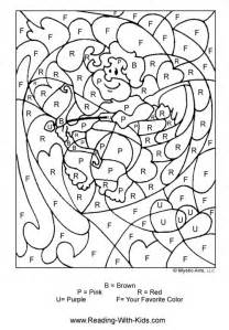 color by letter color by number coloring pages