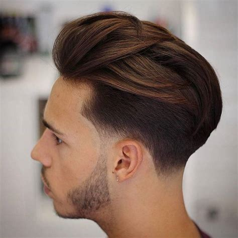 low fade with bangs taper fade haircut long hair hairs picture gallery
