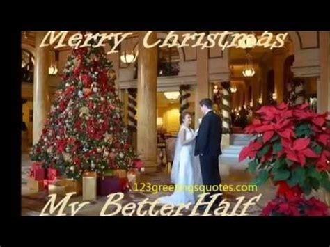 lovely merry christmas wishes video greeting husband wife partner song   year