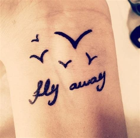 birds flying away tattoo birds tattoos and designs page 313
