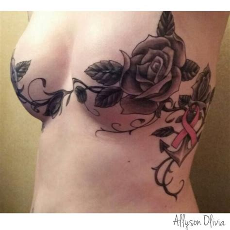 tattoo nipples for breast cancer 43 inspiring breast cancer tattoos