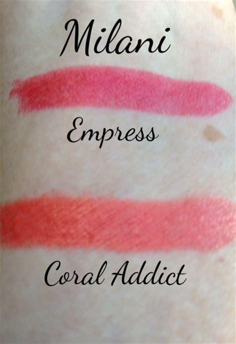 milani color statement lipstick swatches milani matte lip creme color statements lipsticks