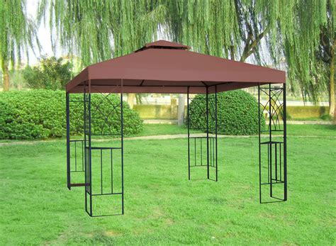 metal gazebo 3x3m metal gazebo pavilion awning canopy sun shade shelter