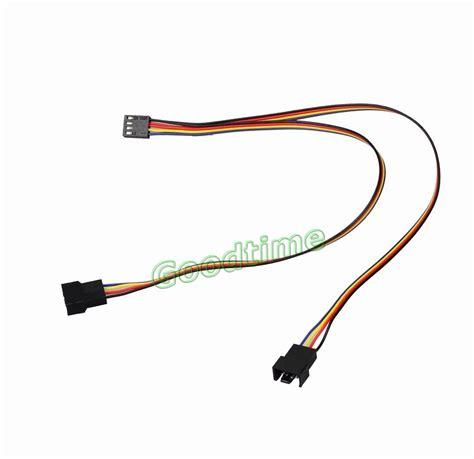 3 pin to 4 pin fan splitter aliexpress com buy 5pcs 4 pin to 2x 4pin 3pin pwm
