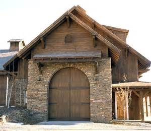 Rustic Garage Doors Montana Rustic Garage Doors For The Home