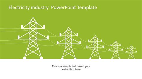 templates powerpoint electricity electricity industry powerpoint template slidemodel