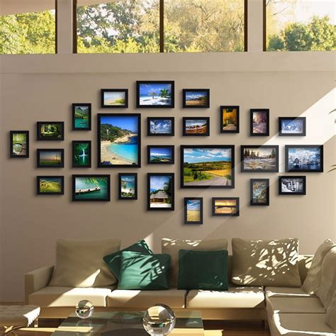 Wonderful Photo Living Room #4: Picture-Frame-Ideas-for-Walls-Ideas.jpg