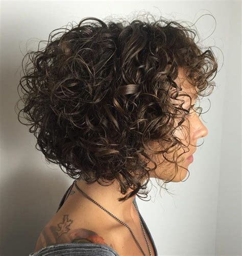 curly hairstyles edgy best 25 haircuts for curly hair ideas on pinterest lob