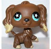 Littlest Pet Shop LPS Cocker Spaniel 960 Dog Puppy Brown With Tan
