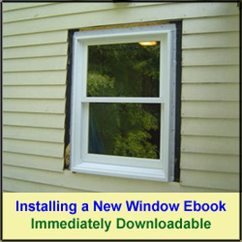 installing bathroom window replacing exterior window trim