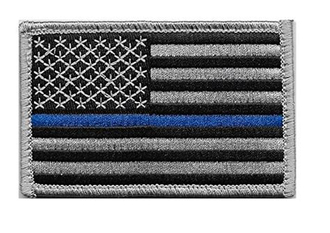 enforcement thin blue line flag us flag thin blue line velcro patch for and