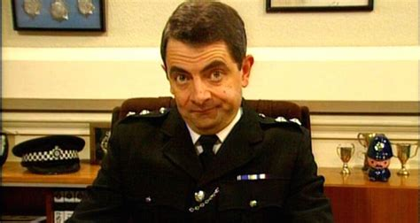 Mr Bean Line rowan atkinson joins the in the thin blue line
