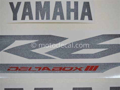 Yamaha R6 2003 Aufkleber by Yamaha Yzf R6 2005 Black Decal Kit By Motodecal
