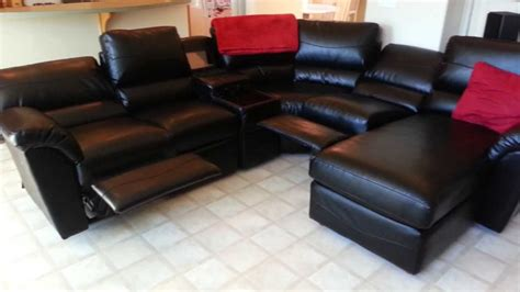 lazy boy devon sectional sofa lazy boy lift chairs flexsteel samantha our best leather