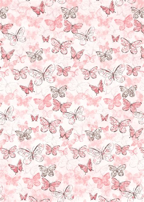 butterfly wallpaper butterflies on pink цветная бумага