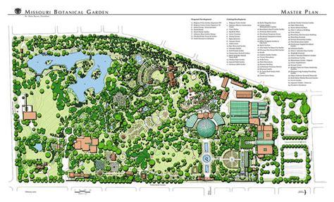 Landscape Architecture Masters Missouri Botanical Garden The Master Plan Mtr Landscape