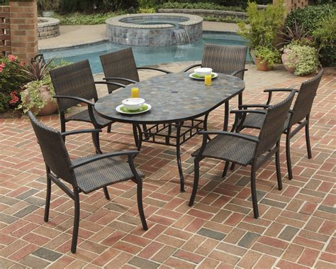 Stone Patio Tables Ideas Homesfeed Patio Table Ideas