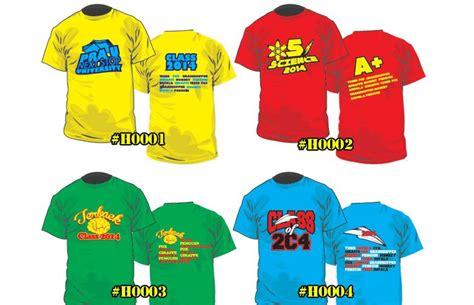 design baju kelas 2014 design tshirt kelas