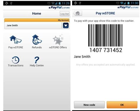paypal mobile payment paypal in store mobile payment app comes available for