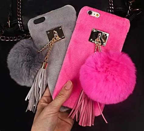 Iphone 6 6s Soft 3d Rabbit Fur Plush Flurry Sarung Casing 228 best cases images on