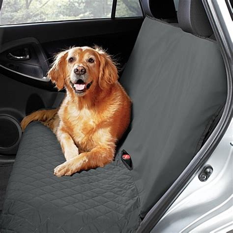 quilted bench seat cover pawslife bench style quilted car seat cover bed bath beyond