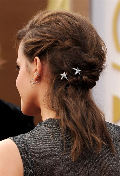 short hairstyles as seen from behind got your back see these gorgeous 2014 oscars hairstyles