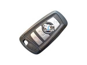for bmw 4 button remote smart key fob oem used part number
