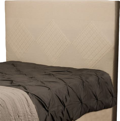 Quilted Headboard King by Hartman Beige Quilted Fabric King Cal King Headboard