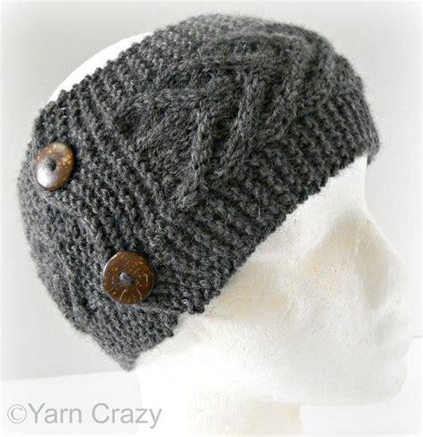 ear warmer knitting pattern knitted ear warmers pattern