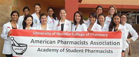 Uh Mba Student Organizations by Apha Asp Chapter Wins Outstanding Graduate Organization