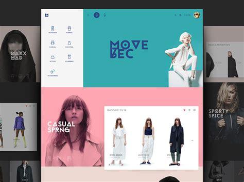 design clothes web 30 brilliant fashion web design concepts web graphic