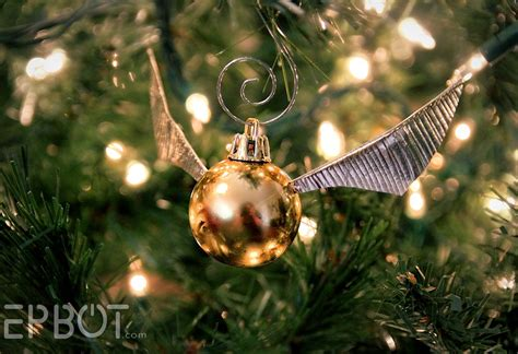 The Best Gold Spray Paint - epbot make your own golden snitch ornaments