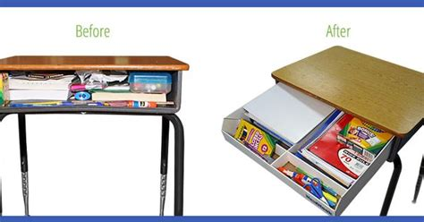 School Desk Organizers The Neatnook School Desk Organizer Is A Revolutionary Tool That Allows Students In Grades 1st