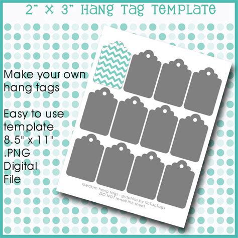 print your own gift tags hang tag gift template collage set png diy make your own