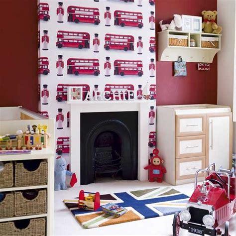 London themed boy s bedroom modern designs wallpaper housetohome co uk