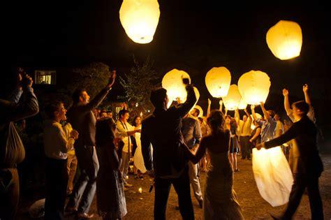 Wedding Wishes Lanterns by 7 X Sky Lanterns Flying Wedding Wishing L