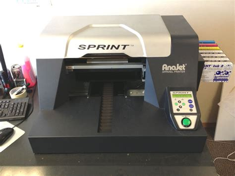 Printer Dtg Anajet Sprint anajet sprint dtg printer
