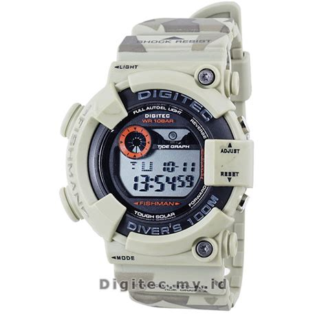 Digitec Neo Coklat Muda Original digitec dg 2089t soft brown camo jam tangan sport anti
